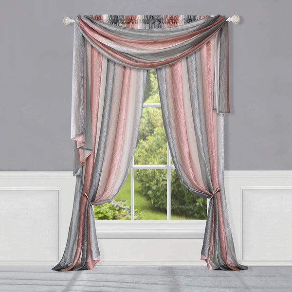 Ombre Scarf Blush - - Marburn Curtains