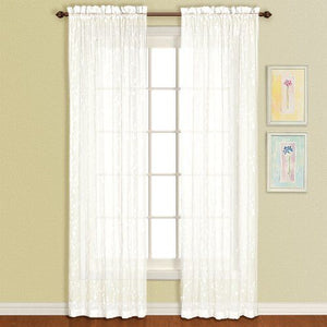 Savannah Rod Pocket Sheer Panel - 051x063 Oyster C25920- Marburn Curtains