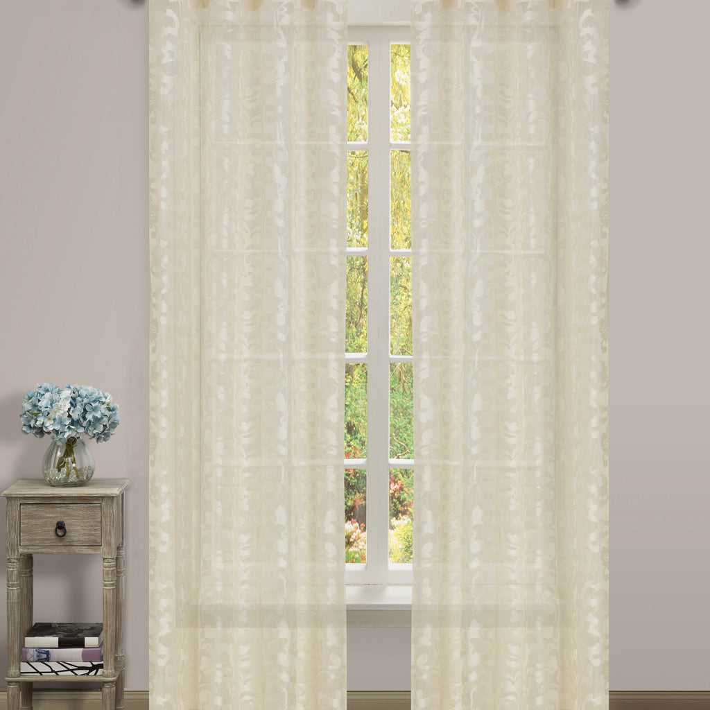 Luciana Semi-Sheer Grommet Panel