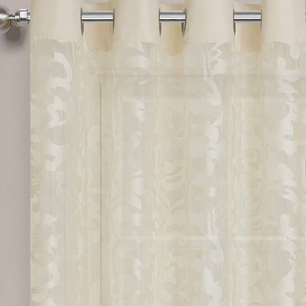 Luciana Semi-Sheer Grommet Valance - - Marburn Curtains