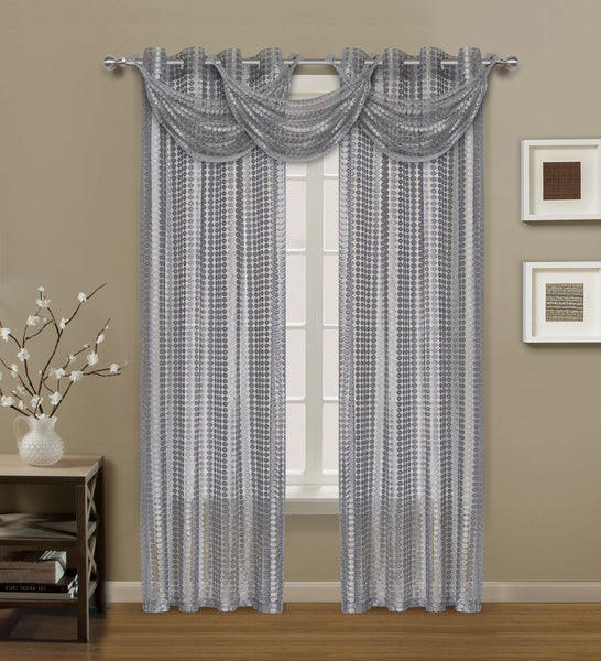 Links Waterfall Valance - - Marburn Curtains