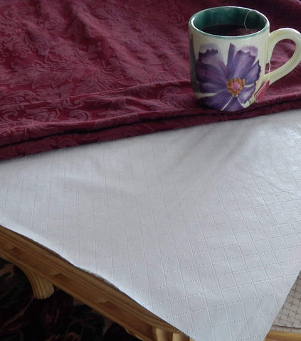 Quilted Flannel Back Table Pad - - Marburn Curtains
