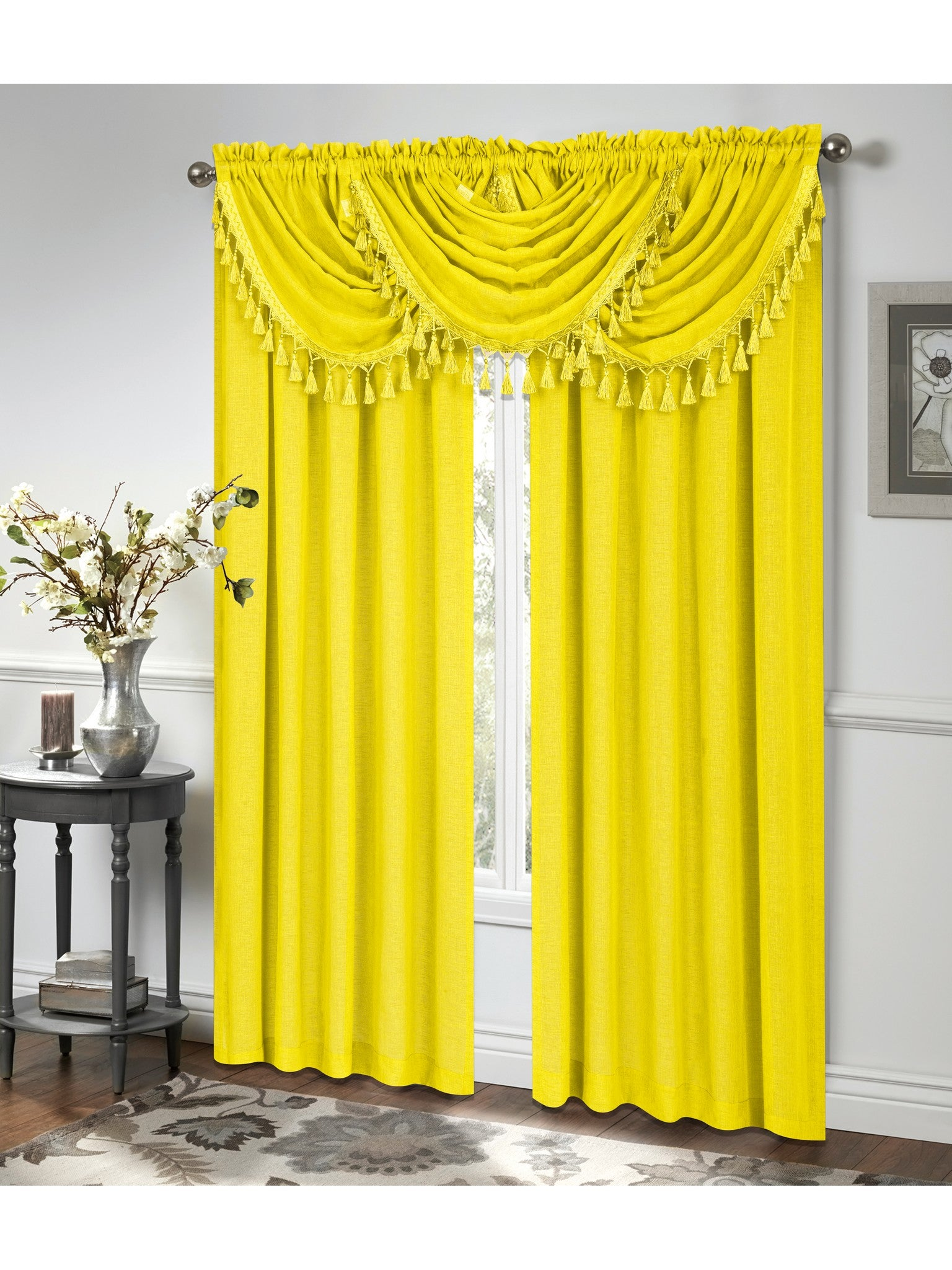 for tsumi valance design bedroom ideas interior of with curtains image lovely best yellow blind gray and