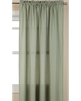 Ribcord Rod Pocket Panel - 055x063   Sage  C40801- Marburn Curtains