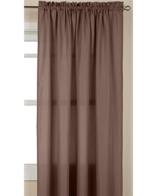 Ribcord Rod Pocket Panel - 055x063   Taupe  C40802- Marburn Curtains