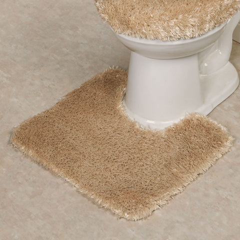 St. Lucia Plush Bath Rug Contour - - Marburn Curtains