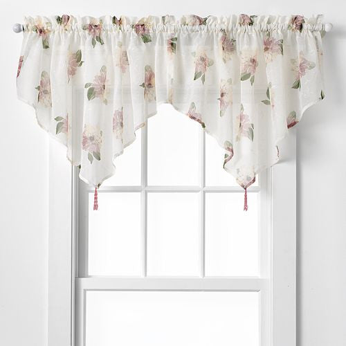 Water Lily Sheer Rod Pocket Panel - - Marburn Curtains