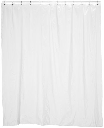 Extra Long 5 Gauge Vinyl Shower Curtain Liner 72\