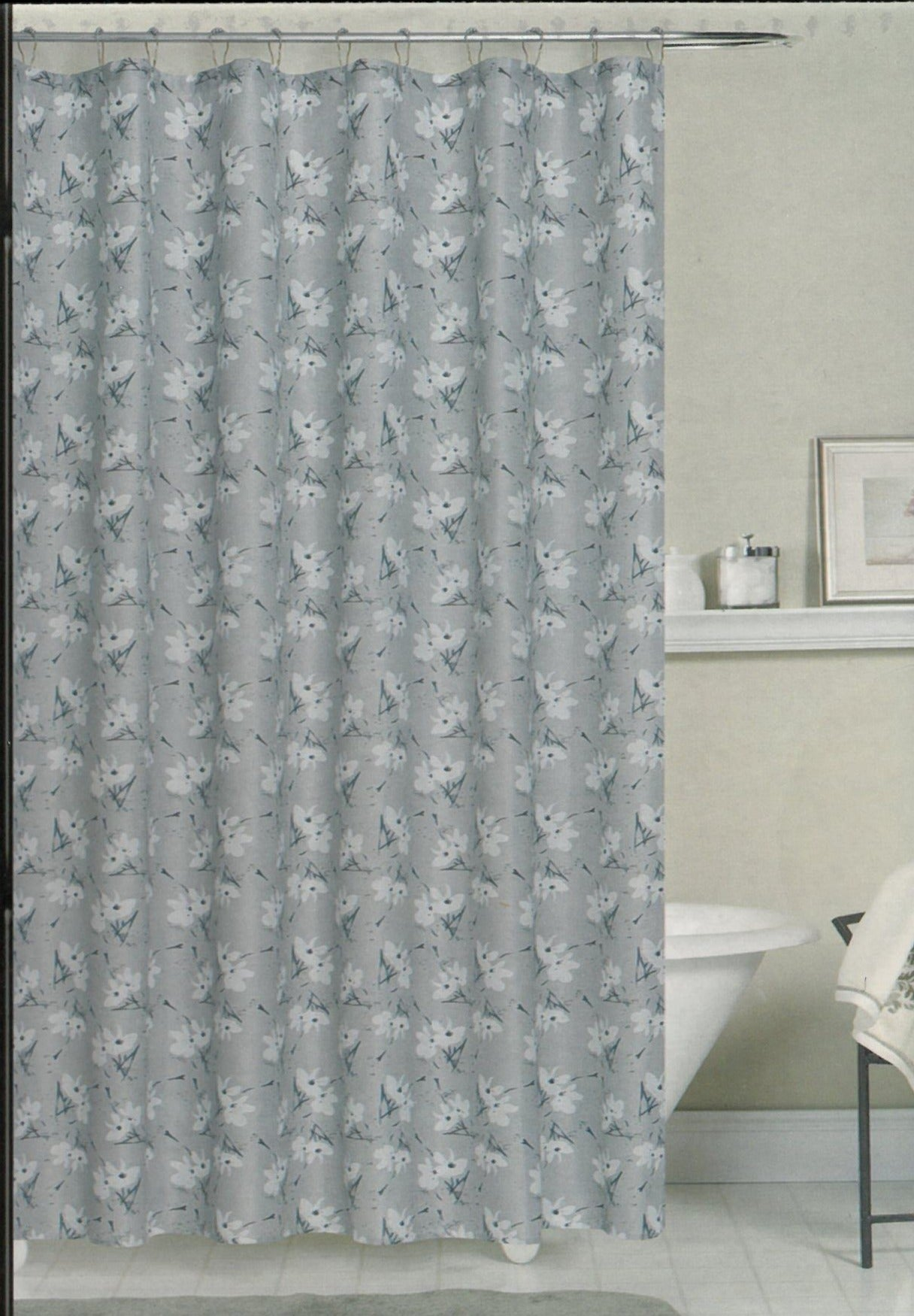 Yvette Fabric Shower Curtain - - Marburn Curtains