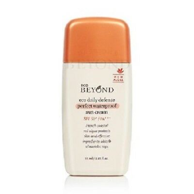 BEYOND ECO DAILY DEFENSE PERFECT WATERPROOF SUN CREAM - 55 ML