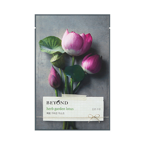 BEYOND HERB DAY GARDEN MASK - LOTUS - 20G