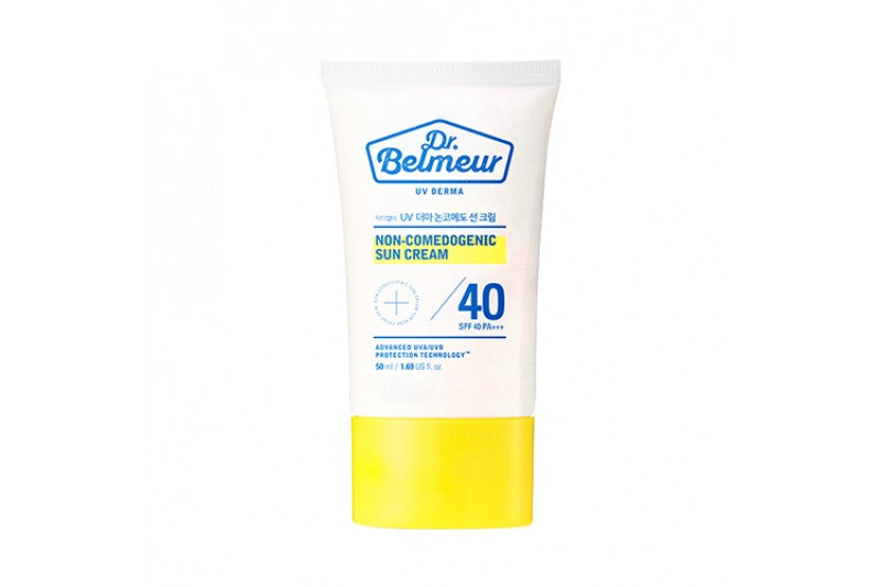 DR. BELMEUR NON-COMEDOGENIC SUN CREAM SPF40+++ - 50 ML