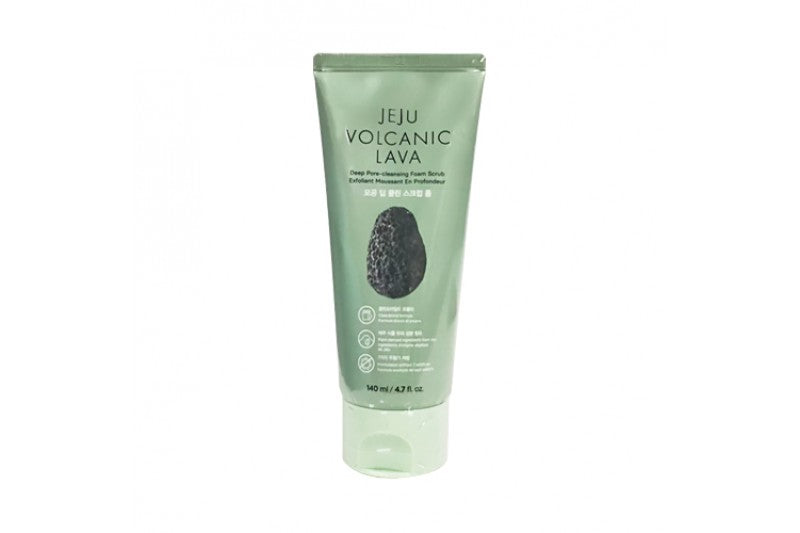 JEJU VOLCANIC LAVA DEEP PORE CLEANSING FOAM SCRUB - 140ML