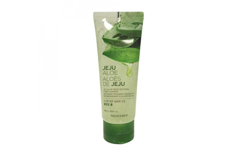 Jeju Aloe Fresh Soothing Foam Cleanser - 150ml