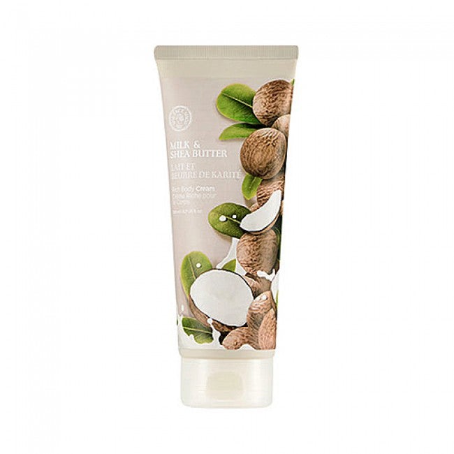 MILK AND SHEA BUTTER BODY CREAM - 200ml