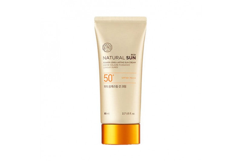 NATURAL SUN LONG-LASTING SUN CREAM SPF 50 - 50 ML
