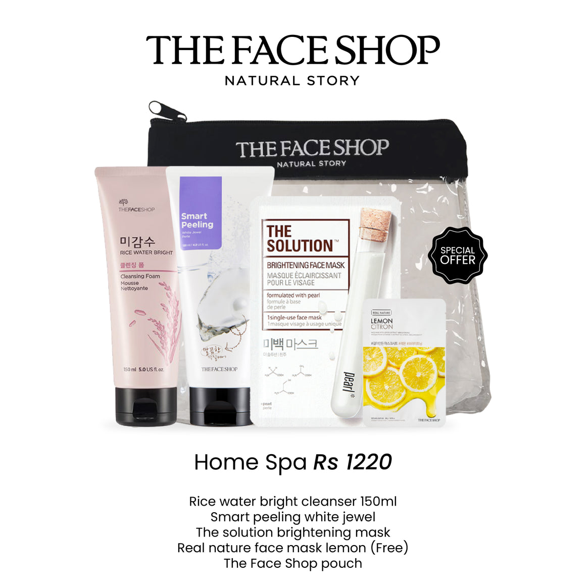 Home Spa Special Set