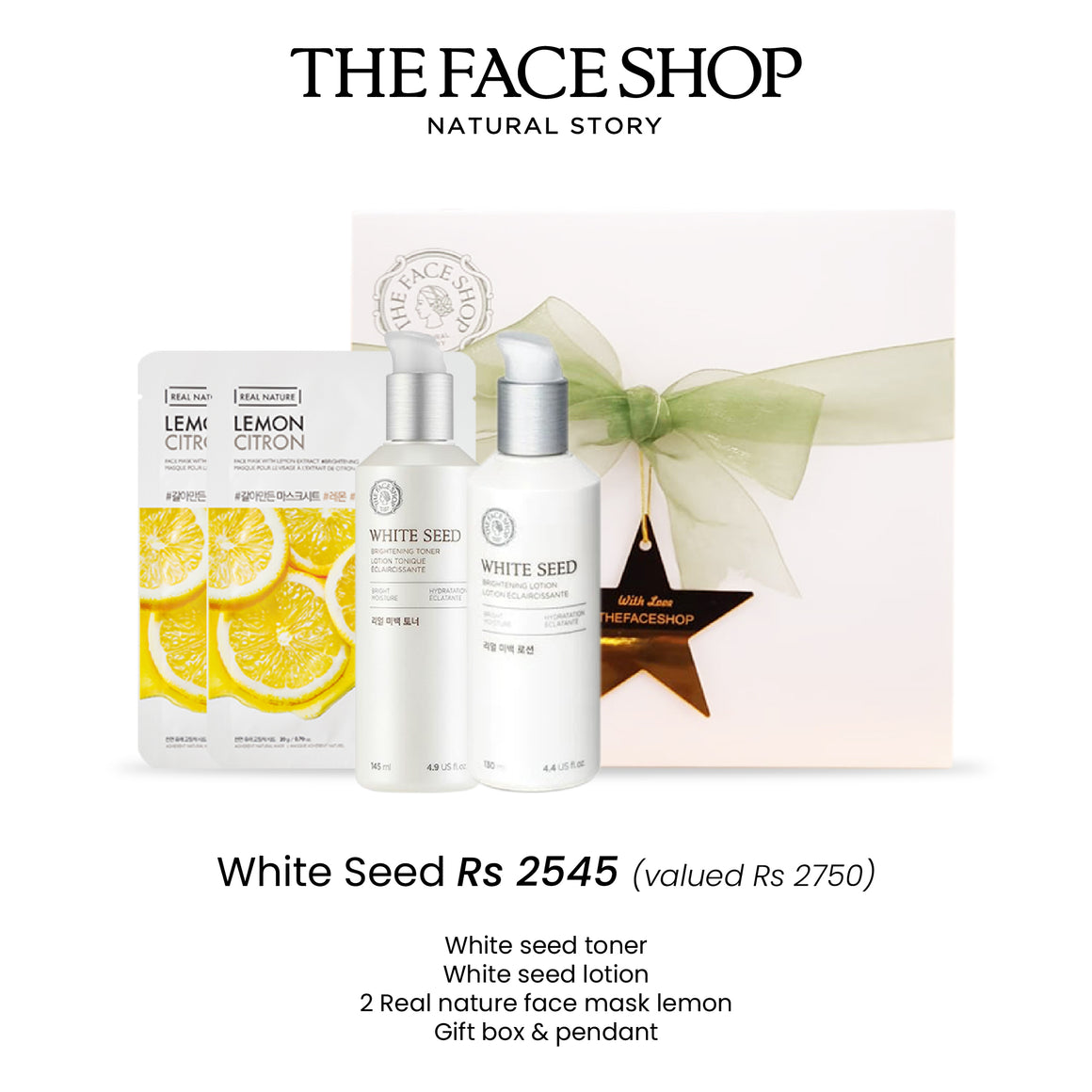 White seed brightening set