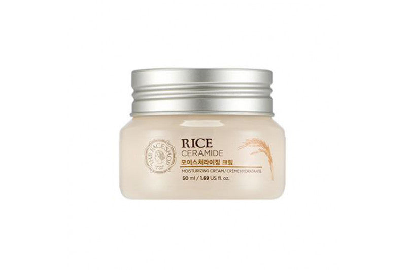 RICE & CERAMIDE MOISTURIZING CREAM - 50ml