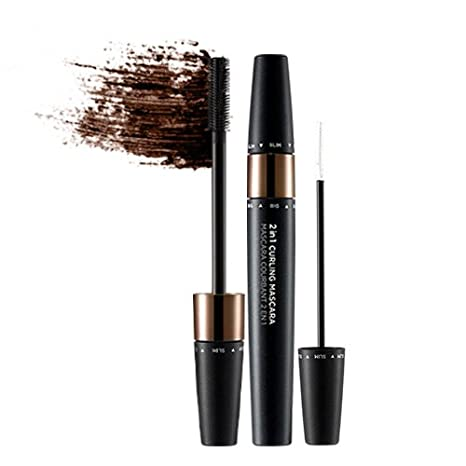 2 IN 1 CURLING MASCARA 02 BROWN