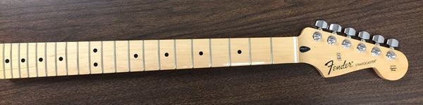 Genuine Fender MIM Stratocaster Maple Neck with Tuners, B Stock