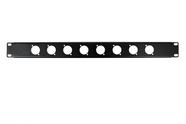 OSP HYC-38-8D 1 Space Rack Panel with 8 D Holes