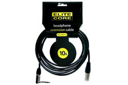Elite Core EC-PRO-HEX10 10' Headphone Extension Cable  (1/4