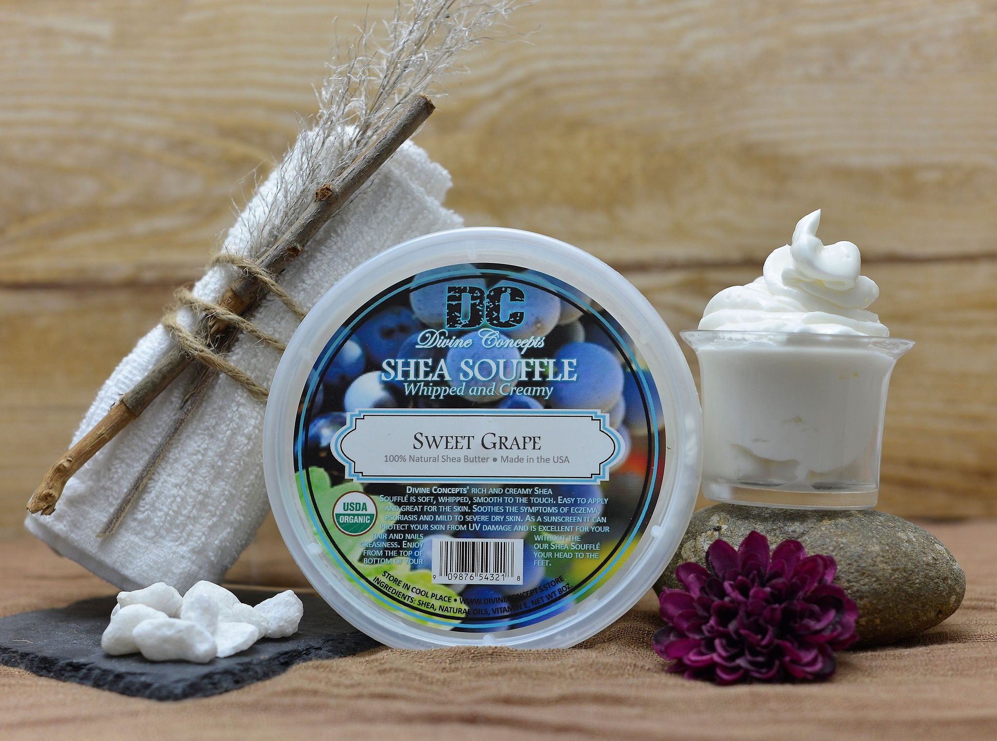 DC Shea Butter Soufflé - Sweet Grape Scented
