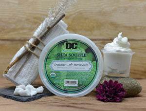 DC Shea Butter Soufflé - Enriched with Peppermint