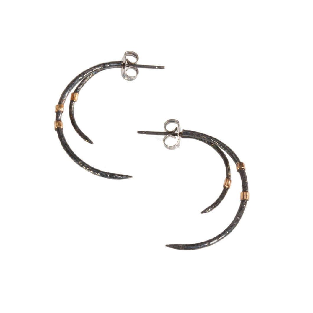 Claw Post Earring-Small