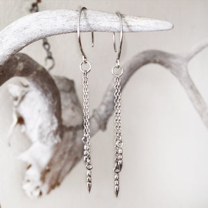 Pendulum Spike Earrings