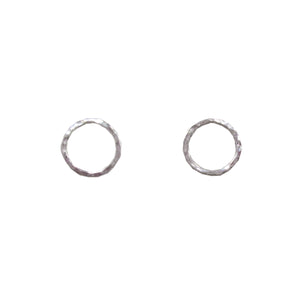 Petite Circle Post Earring
