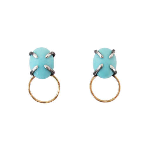 Blue Shift Post Earring (large)