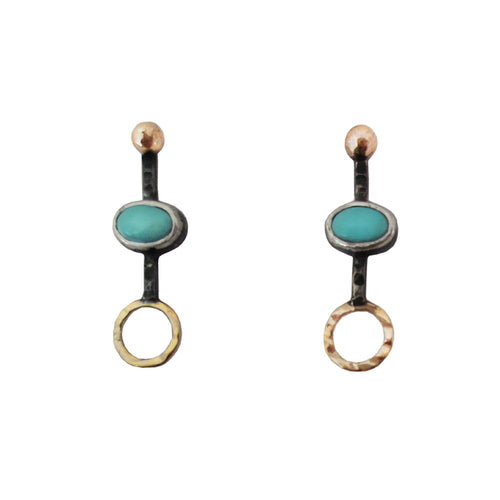 Gemini North Post Earrings
