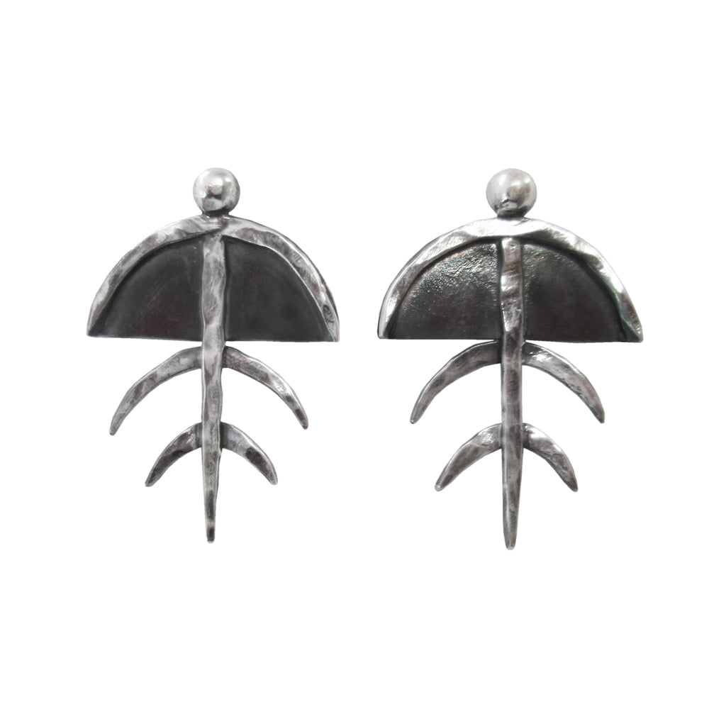 Trilobite Post Earrings