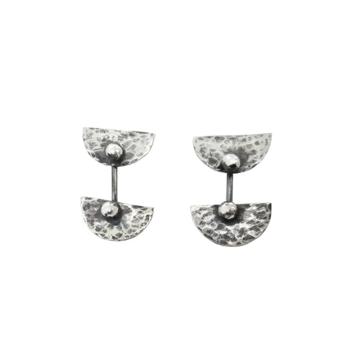 Aphrodite and Hermes Post Earrings