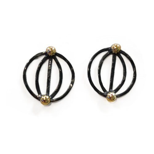 Metaphase Post Earrings