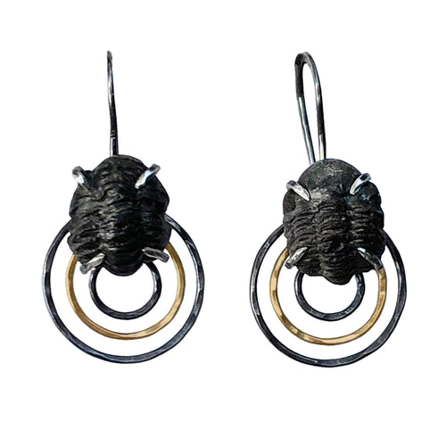 Trilobite Dangle Earrings