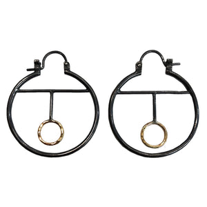 Pulsar Hoop Earrings