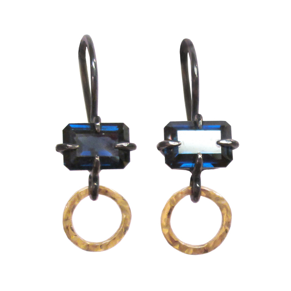 Sapphire Portal Dangle Earrings