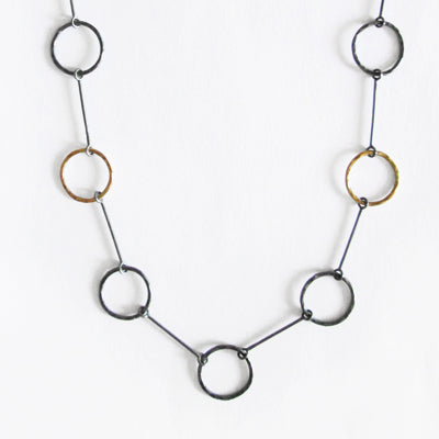 Ecliptic Passage Chain Necklace