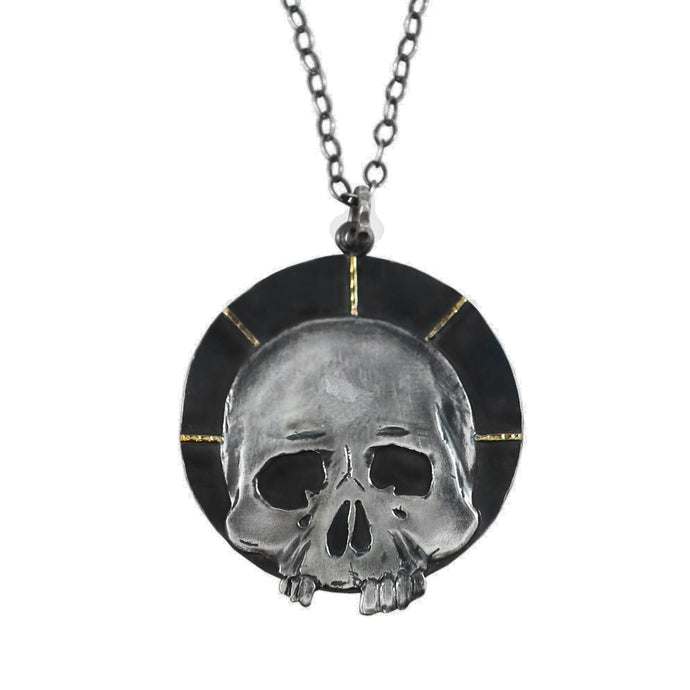Skull Halo Necklace