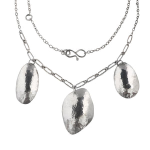 Hammered Rock Necklace