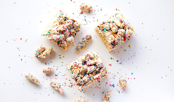 Rice Krispie Treats With a Pretzel Twist
