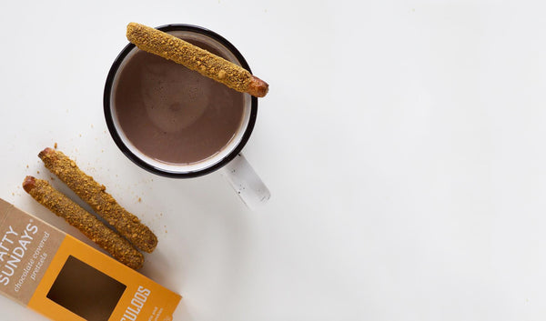 Wintertime with Speculoos Pretzels and Hot Chocolate