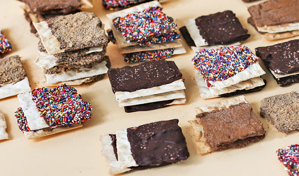 Chocolate Covered Matzah You Won't Want To Pass Over