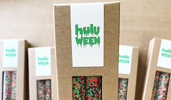 Custom Favors for Hulu, Facebook and POD Hotels