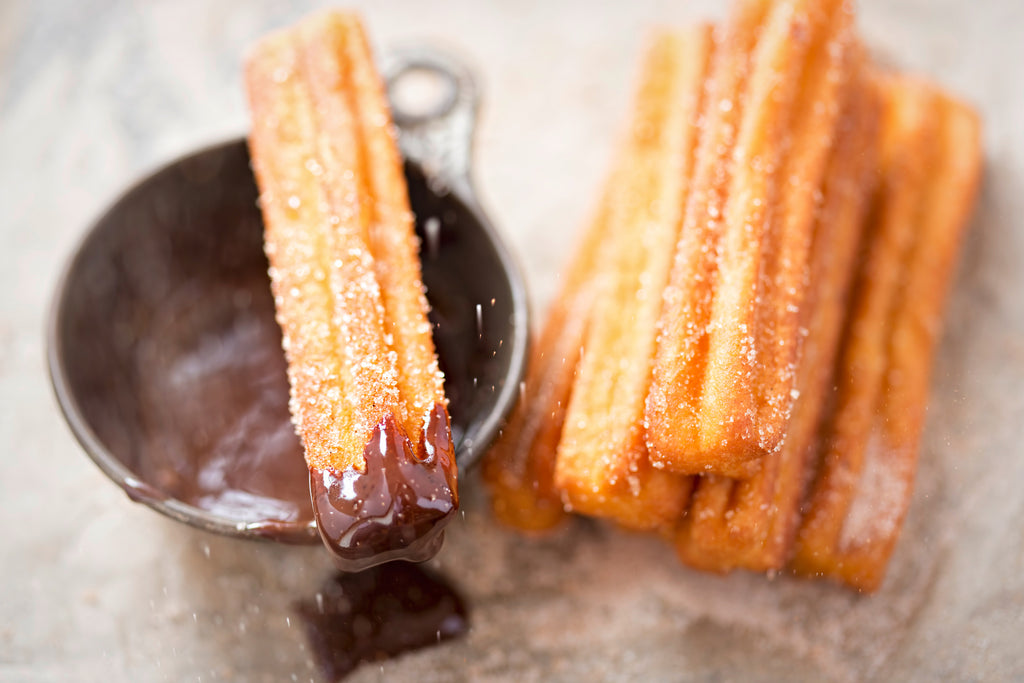 Cinnamon Sugar Chocolate Churros Recipe
