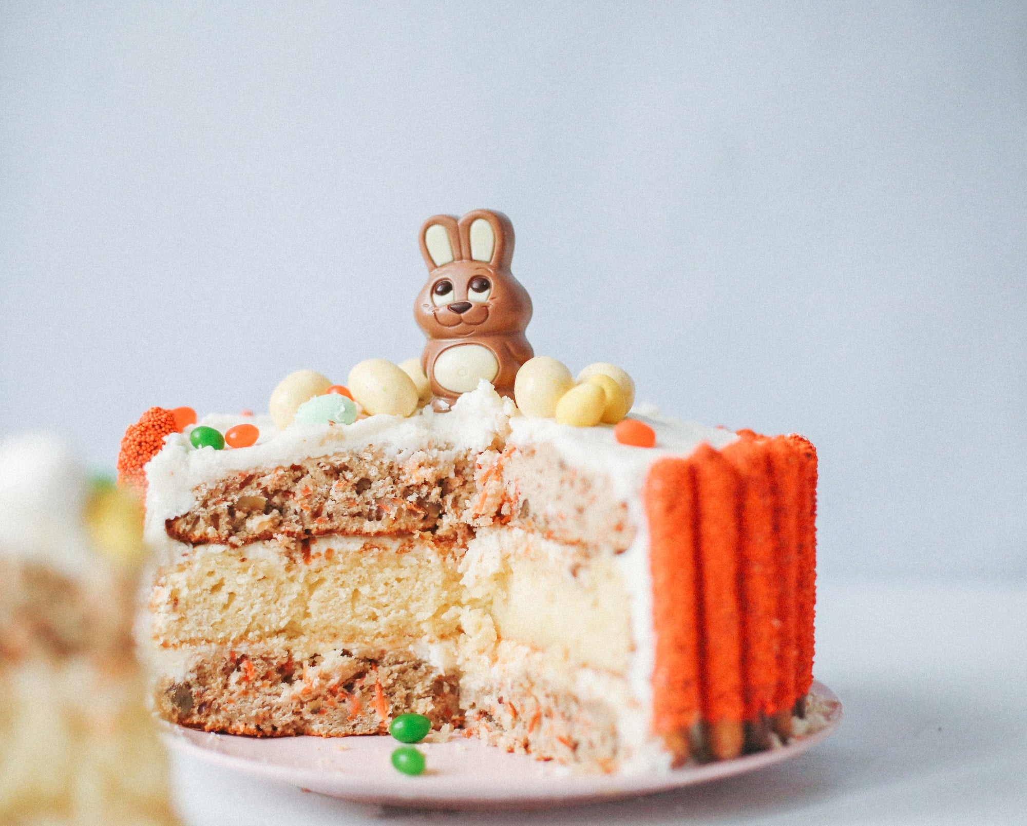 Easter Bunny Vanilla Carrot Cake Recipe