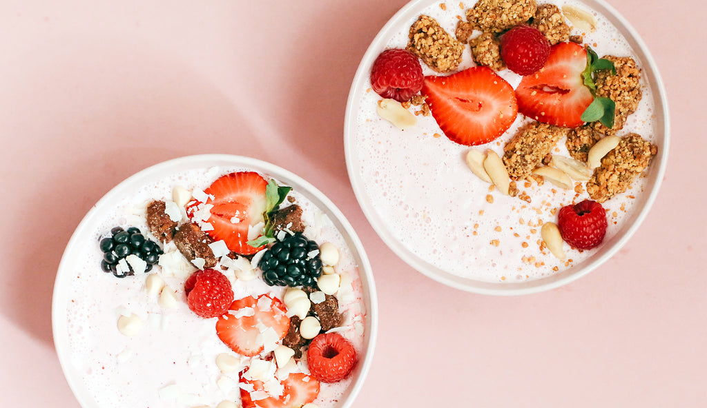 "Mother's Day Ice Cream ""Smoothie"" Bowls"